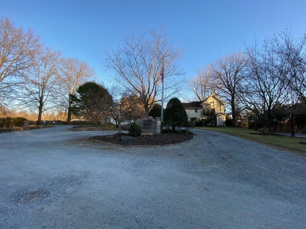 Entrance to the GreenSweep/Garden Gate facility.